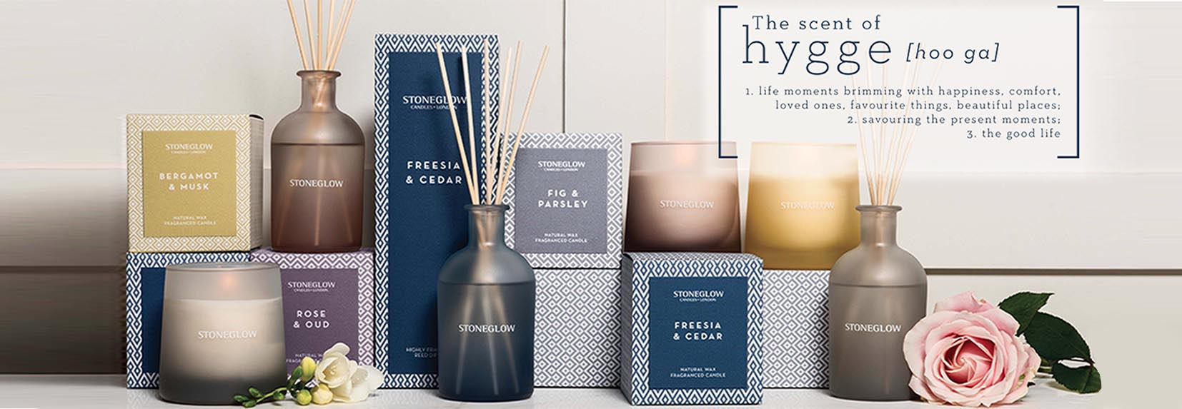 Geometrics Scented Candle and Diffuser Collection